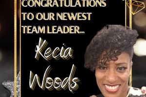 New team leader kecia