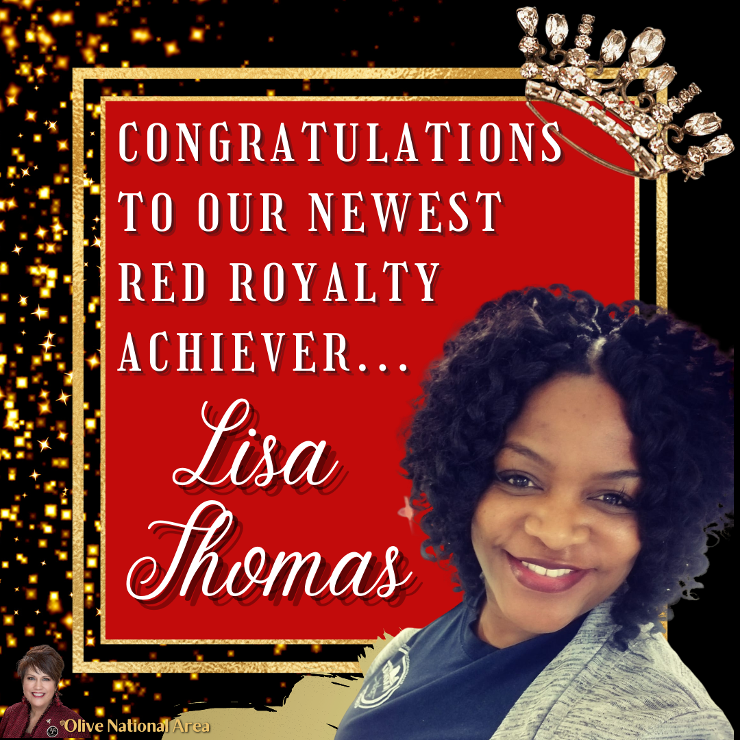 Red Royalty achiever Lisa Thomas