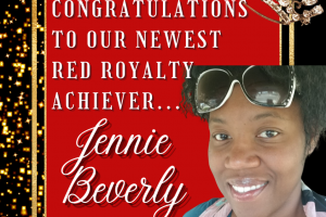 Red Royalty achiever jennie beverly