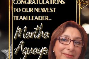 Martha Aguayo Team Leader