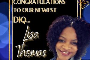 New DIQ lisa thomas