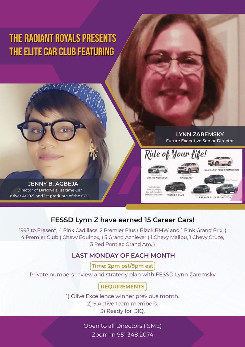 car club flyer