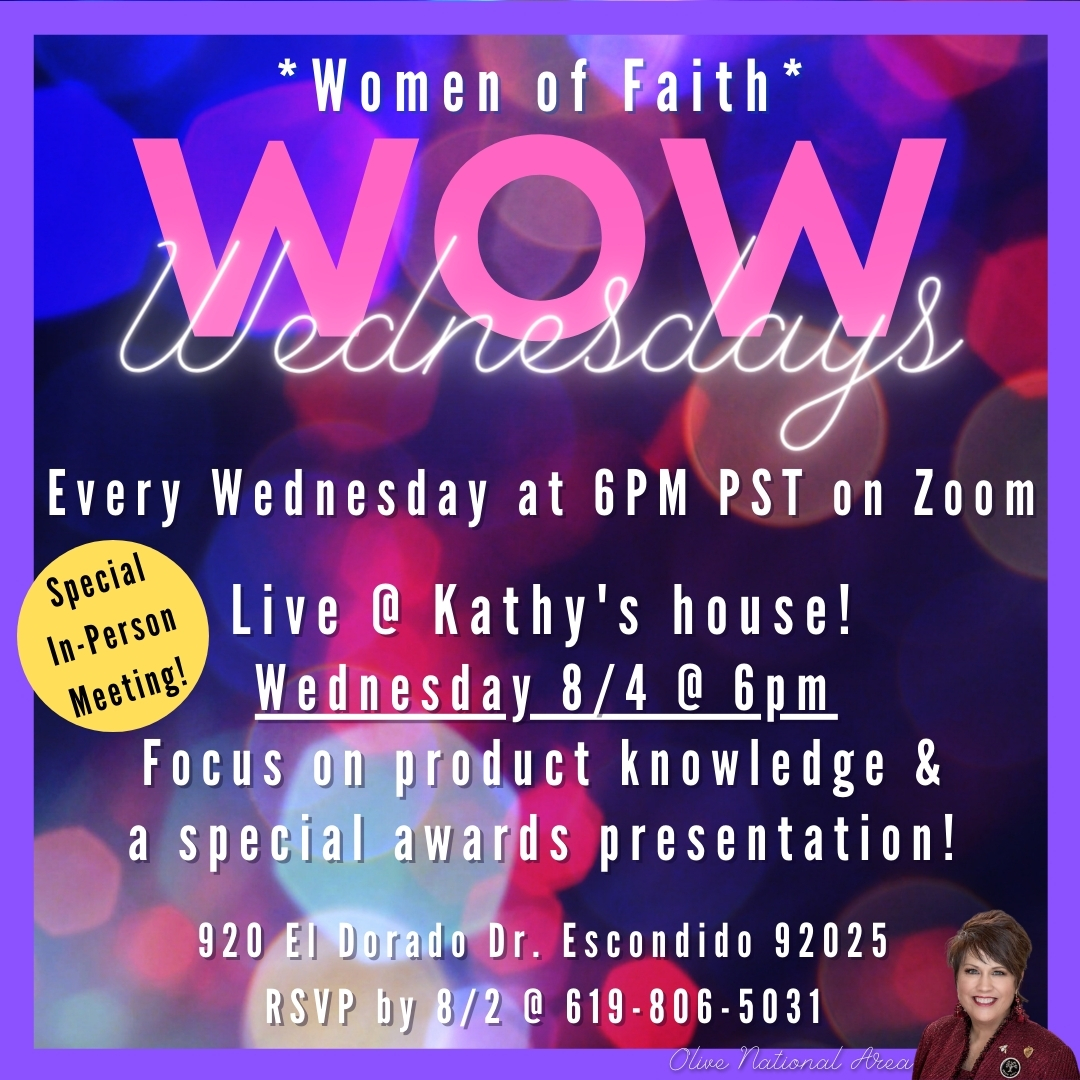 August Wow Wednesday