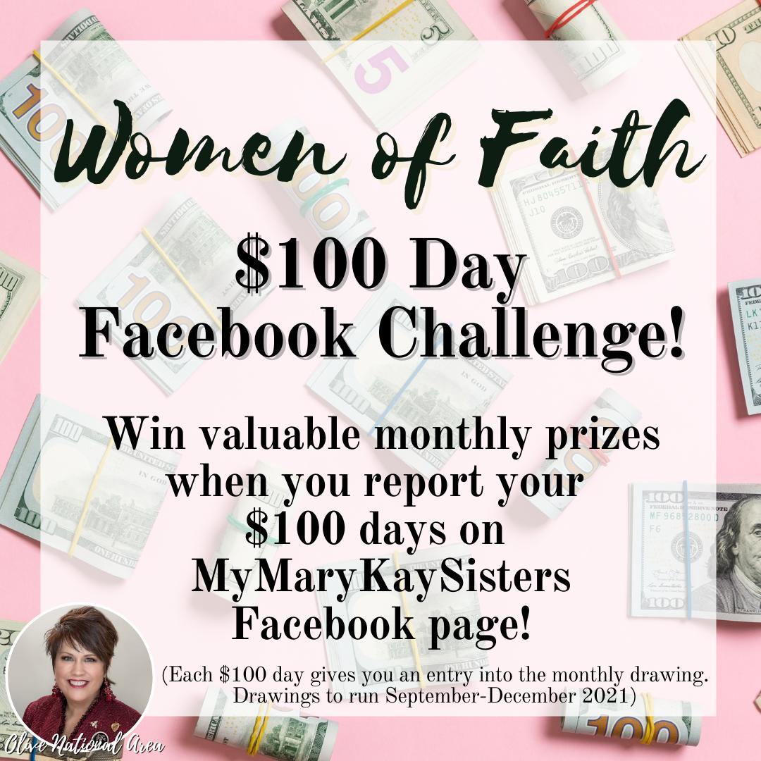 $100 facebook challenge WOF_
