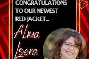 Alma Red Jacket