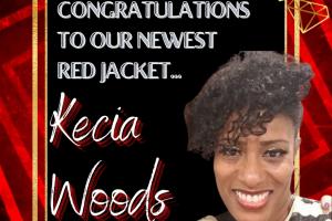 Kecia Woods red Jacket