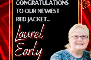 Laurel Early Red Jacket