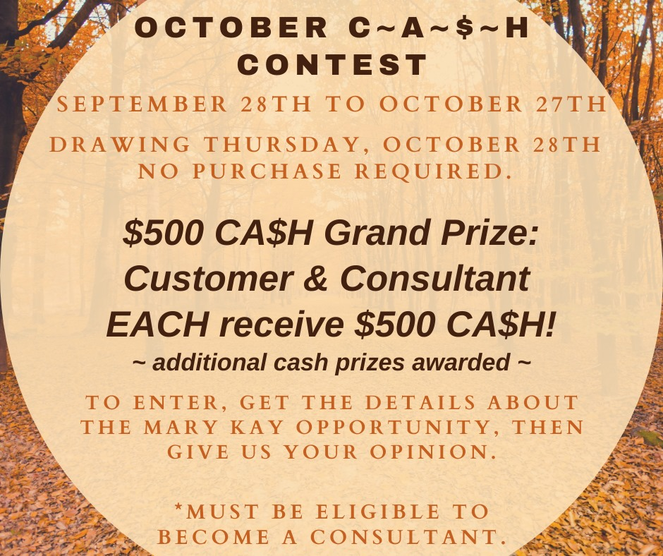 October cash drawing