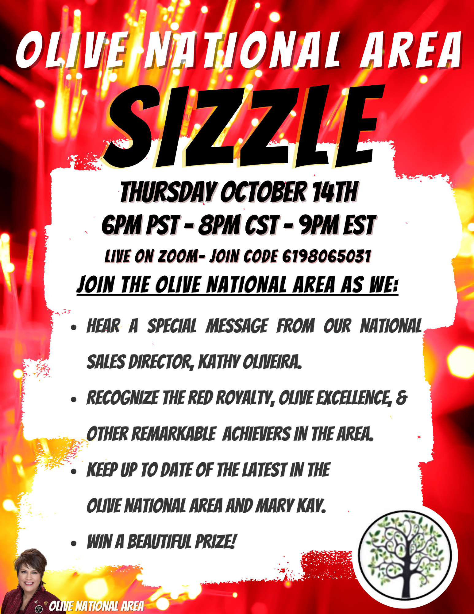 Olive area Sizzle October 14