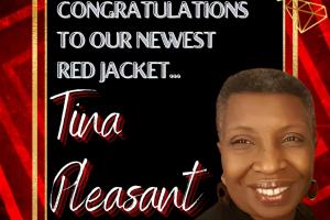 Tina Pleasant Red Jacket