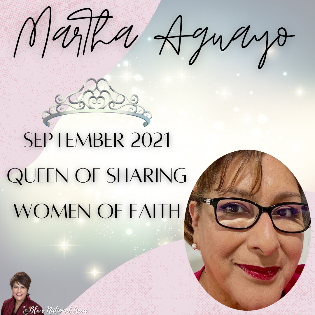 Martha Sept Queen of Sharing