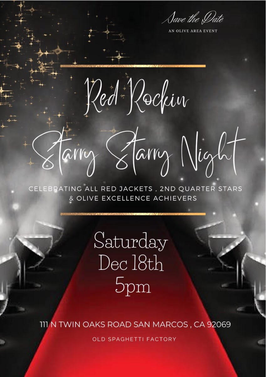 red Rockin Holiday party